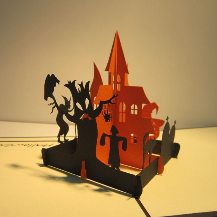 thiệp ngày halloween