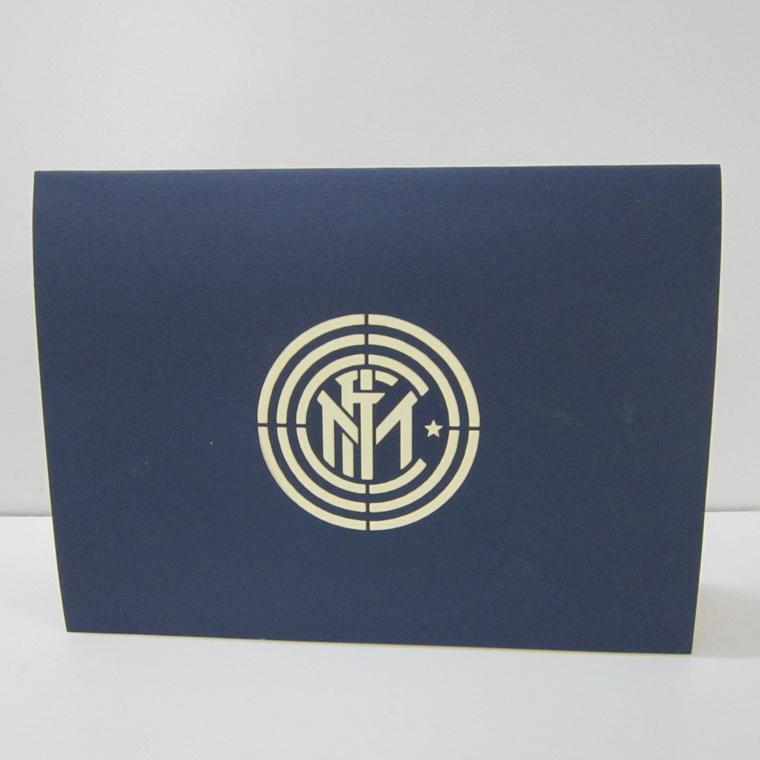 thiệp nổi sân bóng đá Internazionale Milano