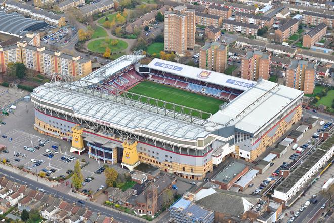 sân bóng đá đội tuyển West ham United