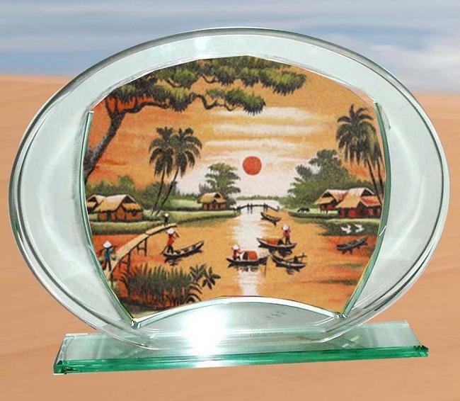 quà lưu niệm tranh cát