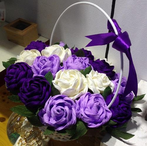hoa giấy dún đẹp