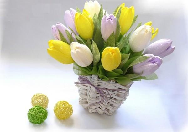 hoa giấy dún tulip