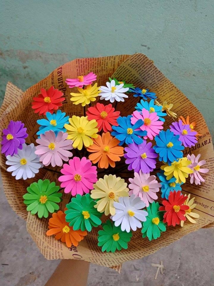 hoa giấy nhiều mầu sắc