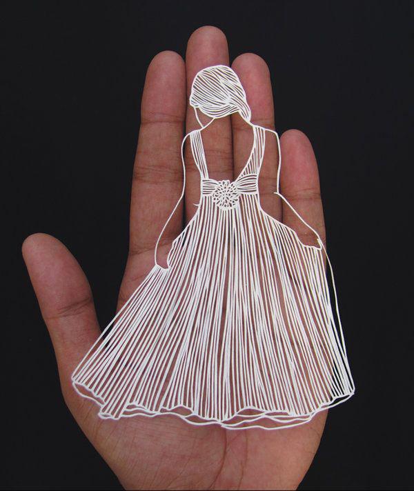 tranh cắt giấy laser