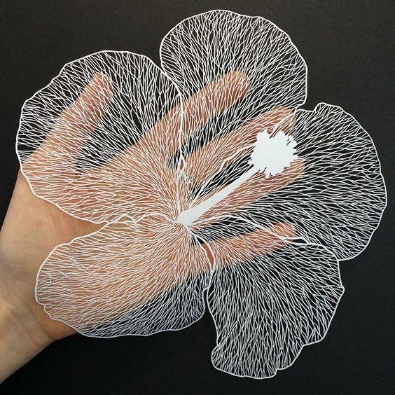 cắt giấy bằng laser đẹp