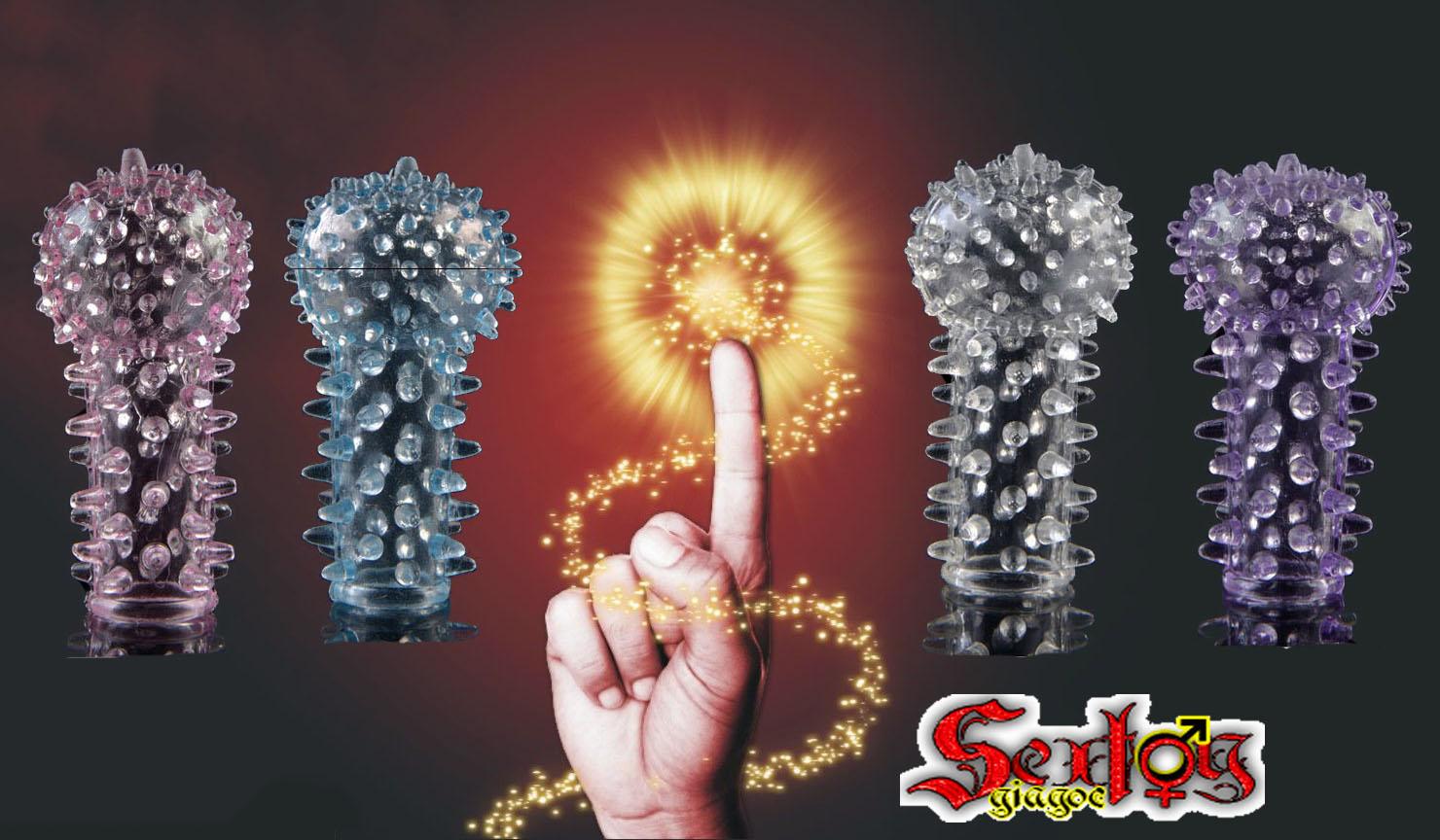 Ngón tay Silicone siêu gai - DC10