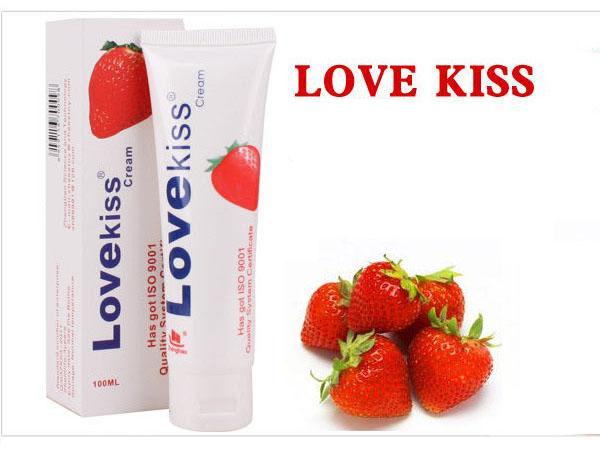 Gel bôi trơn vị dâu cho oralsex-Lovekiss - G01A
