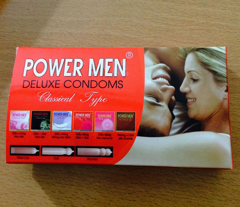 Bao cao su Powermen vợ,chồng - P13