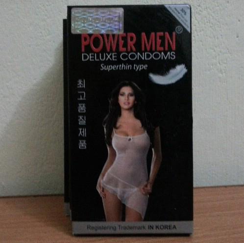 Bao cao su Powermen siêu mỏng-hộp 2 chiếc - P08