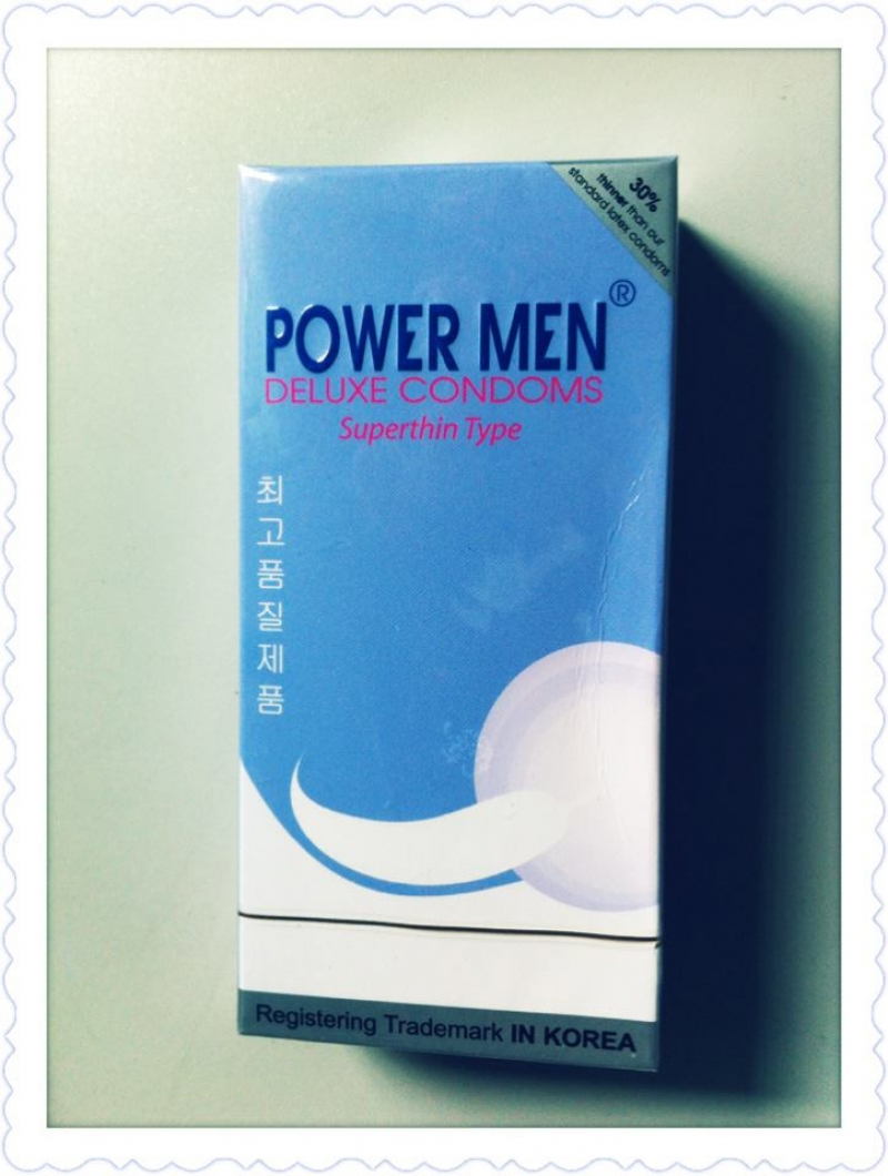 Bao cao su Powermen Superthin Type-Blue 12 cái - P10