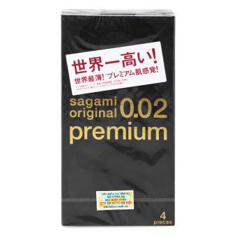 Bao cao su Sagami Original 0.02 Premium - SGM01