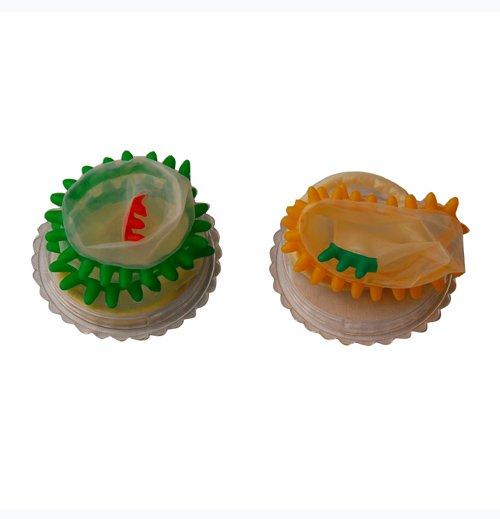 Bao cao su siêu gai-sắc màu - CD10