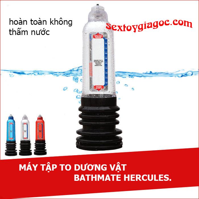 Máy tập to dương vật UK Bathmate Hercules X30 - DC68E