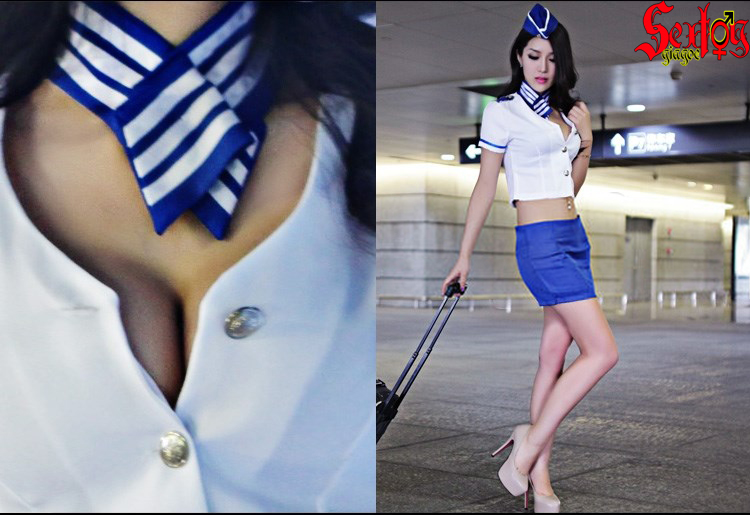Đồng phục nữ tiếp viên khêu gợi - NY03C