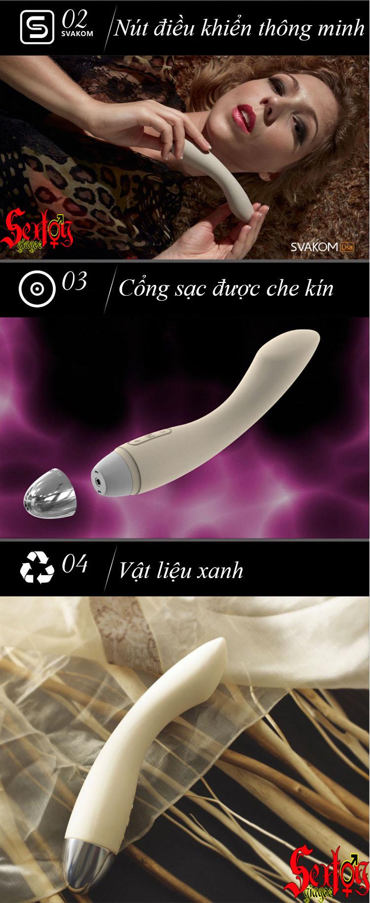 Massage điểm G cao cấp Svakom Lisa - DC003
