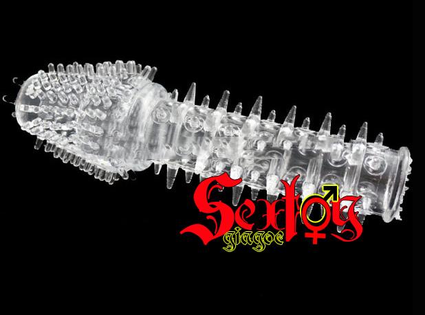 làm to dương vật bằng Bao cao su Đôn dên Baile gai xương rồng - DD07B