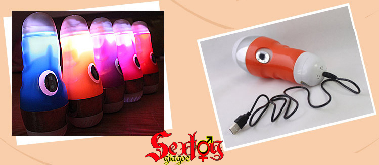 Đèn pin thủ dâm phát âm thanh JUNYI - BG45