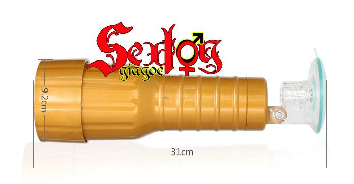 kích thước Đèn pin thủ dâm cao cấp - BG80