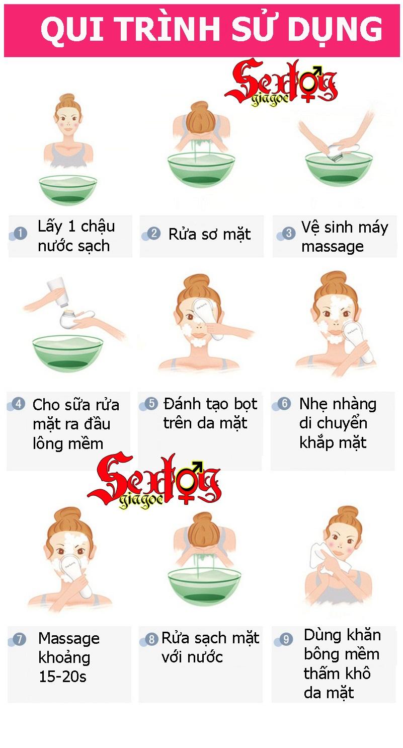 Máy massage, chăm sóc da 4 in 1 - MS45