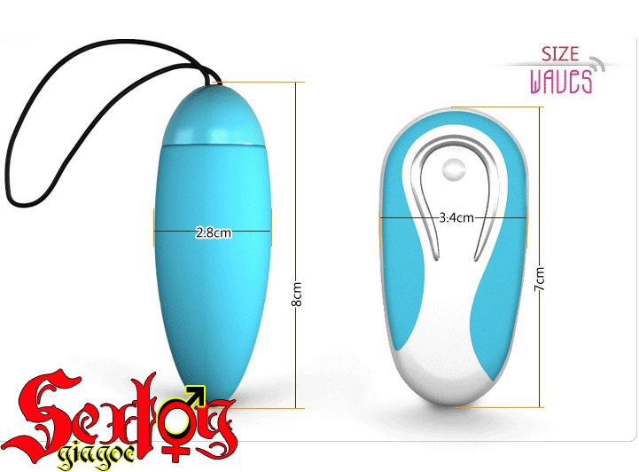 kích thước trứng rung và điều khiển