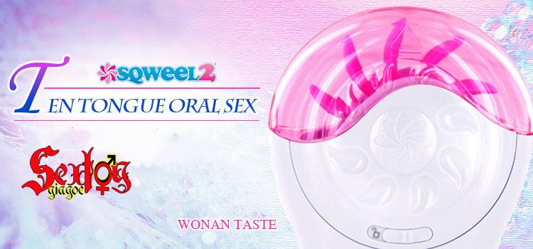 máy liếm âm đạo tự động sqweel 2