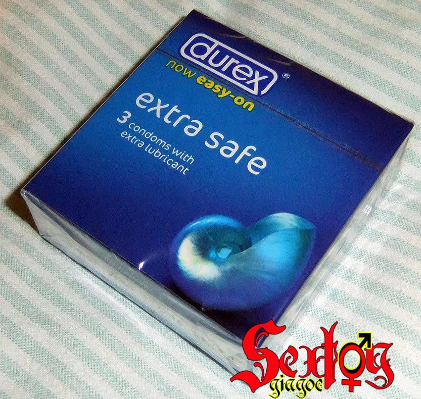 Bao cao su Durex Extra safe 3 chiếc - DR13