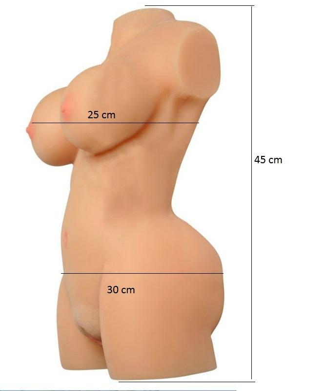 Búp bê silicon mông mẩy, ngực đầy - BB12