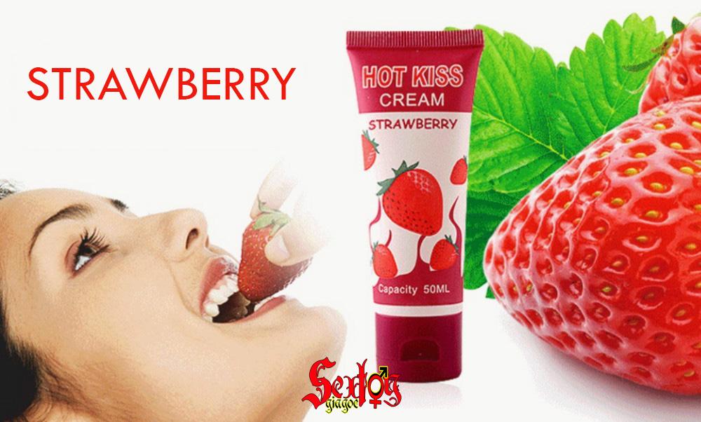 Gel bôi trơn hot kiss Strawberry - DC12G