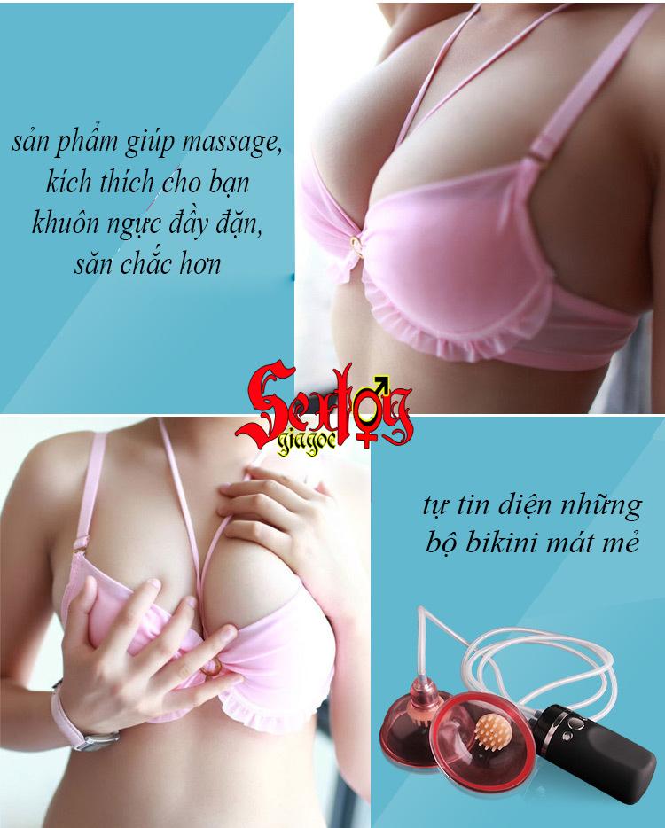 Máy massage, kích thích làm to ngực - DC19M