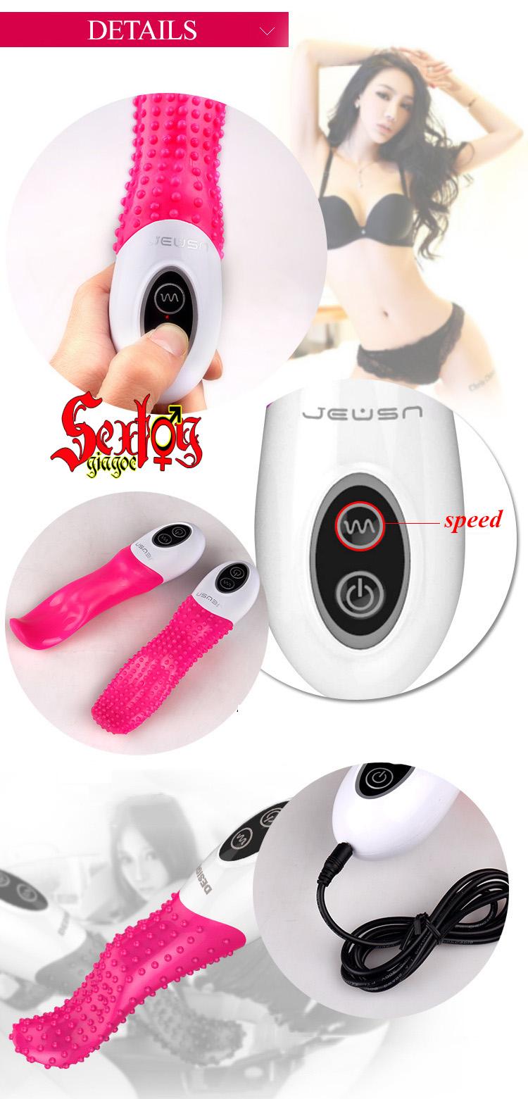 Lưỡi massage, kích thích âm đạo JEUSN - DC20L