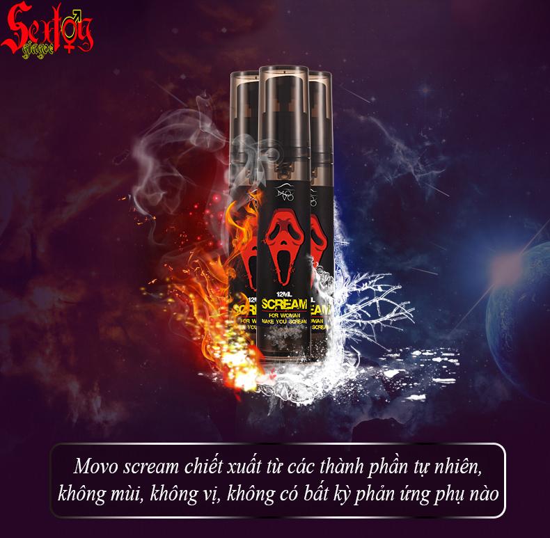 Gel kích thích hưng phấn Movo Scream - G10H