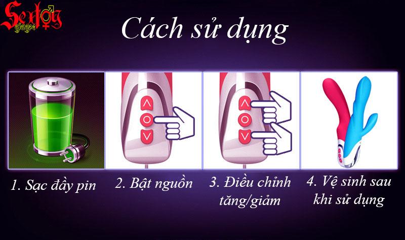 hướng dẫn sử dụng Massage điểm G Boudoir Baby LoveAider - MS28D