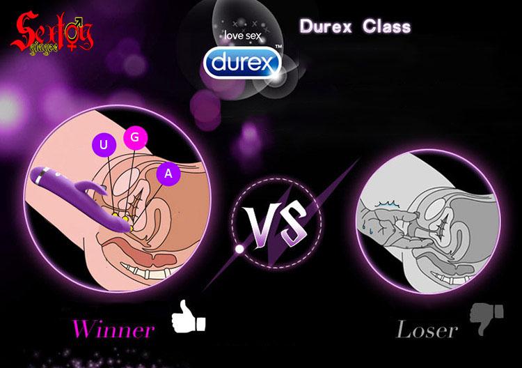 Massage điểm G cao cấp Durex R-Viber - MS25C