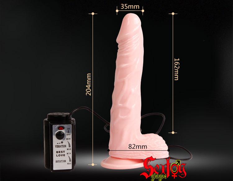 Dương vật gắn tường tỏa nhiệt Fiery Baile 3.5 - DC34V