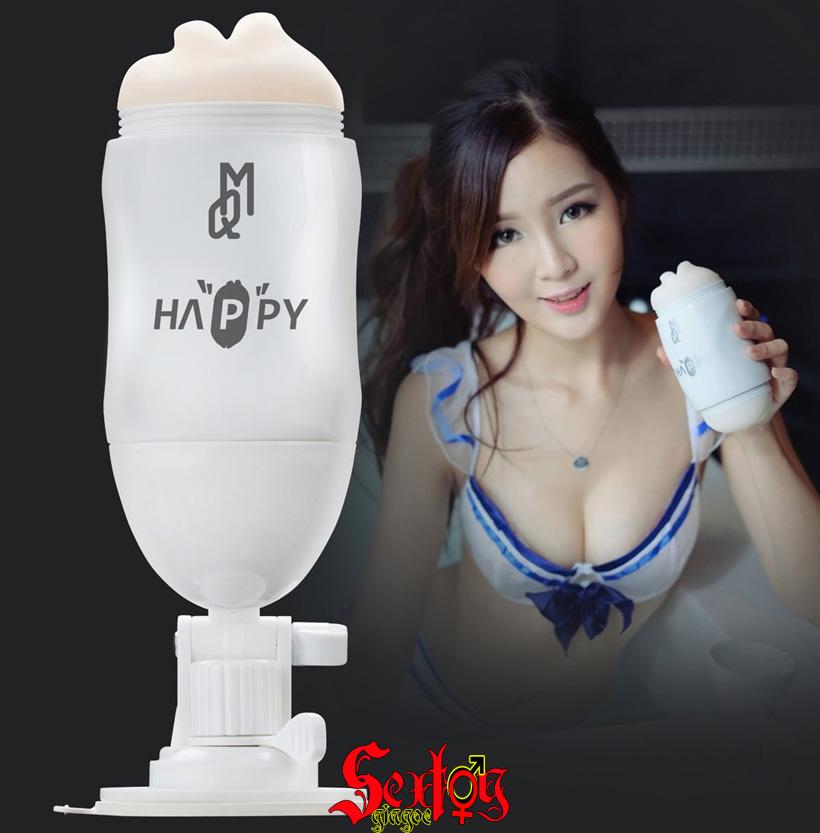 Cốc thủ dâm cao cấp 2 đầu kích thích Happy