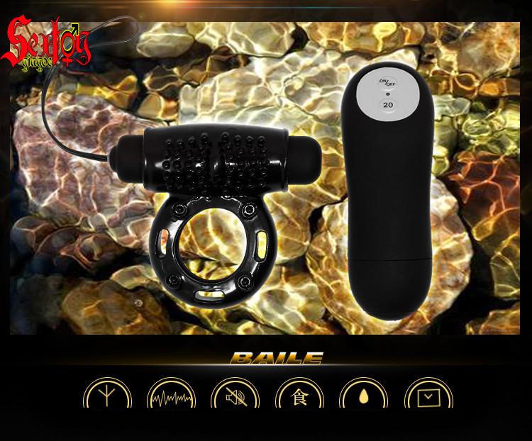 Vòng rung 20 cấp độ Power ring Baile - DC21K