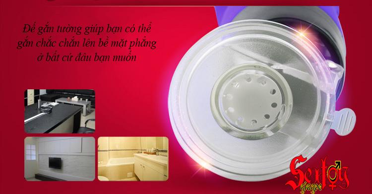 Đèn pin gắn tường rung, rên Xuanai điều khiển từ xa