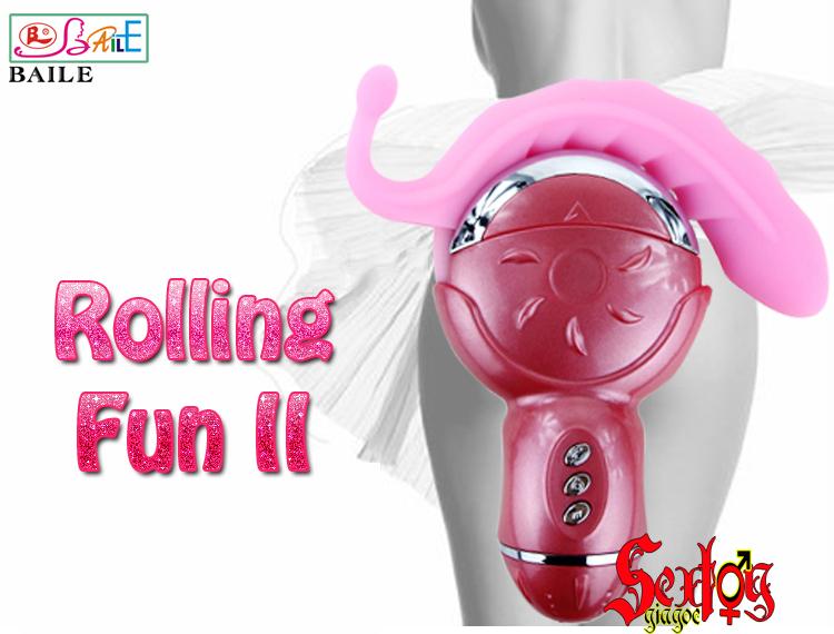 Máy liếm âm đạo Rolling Fun II - DC41A
