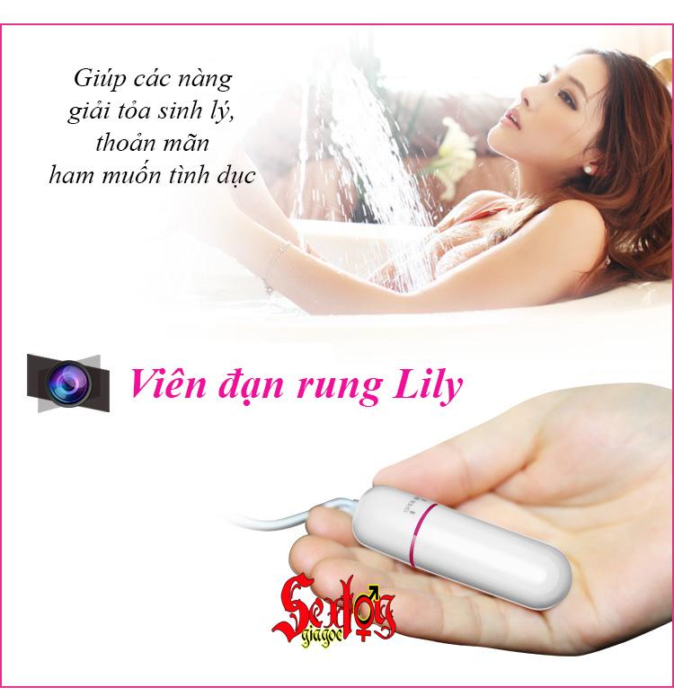 Viên đạn rung Lily-Lovetoy - EG24