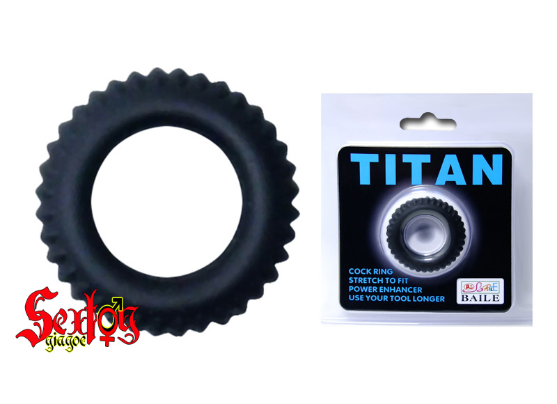 Vòng gai Silicone đeo dương vật Titan-Baile