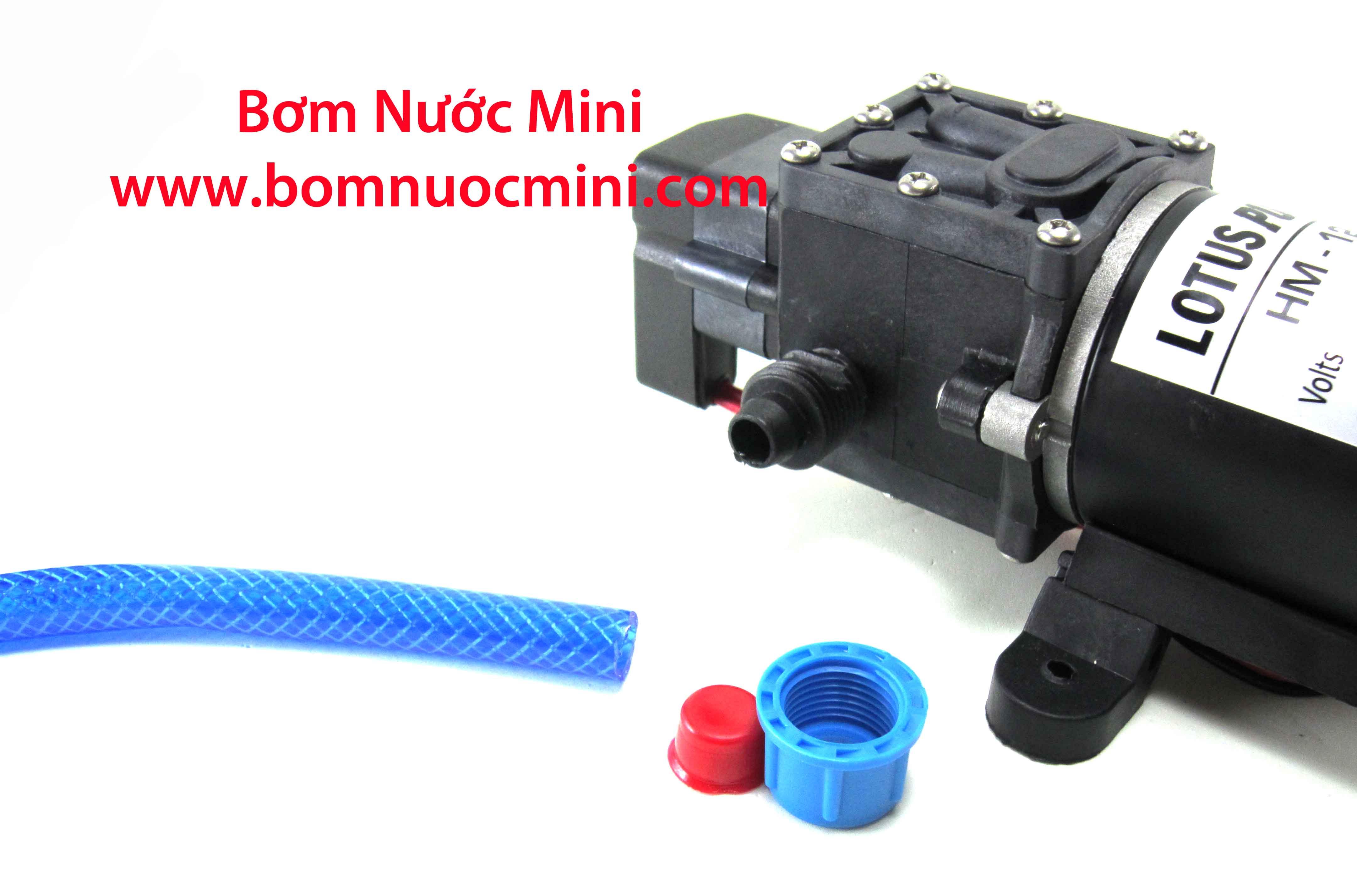 lắp ống nước vào bơm áp lực