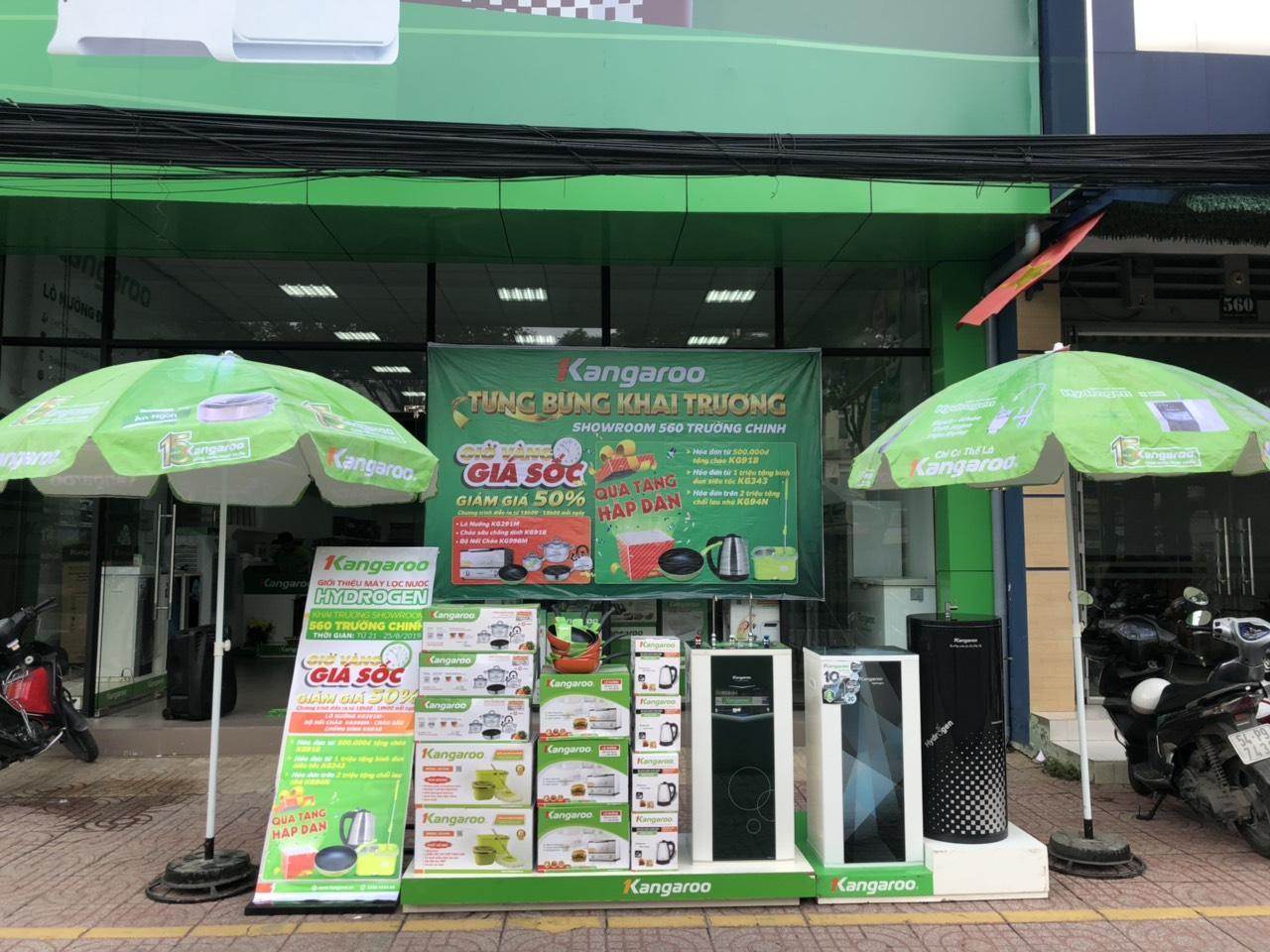 Khai trương KangarooStore-560 Trường Chinh