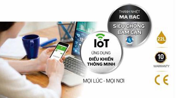 Các sản phẩm ứng dụng công nghệ IOT vẫn còn khá xa lạ với thị trường Việt Nam