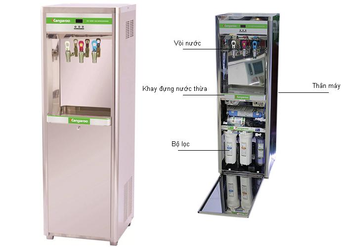 Máy làm nước nóng lạnh 3 chức năng Kangaroo KG120