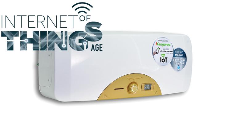 Bình nước nóng Kangaroo KG68IOT với công nghệ 4.0