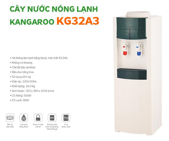Cây nước nóng lạnh Kangaroo KG32A3