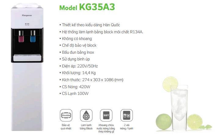 thông số kỹ thuật KG35A3
