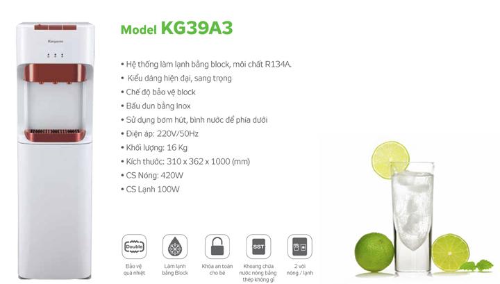 Thông số kỹ thuật KG39A3