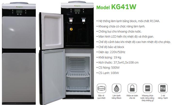 Cây nước nóng lạnh KG41W