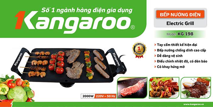 Đặc tính sản phẩm Bếp nướng điện KG198